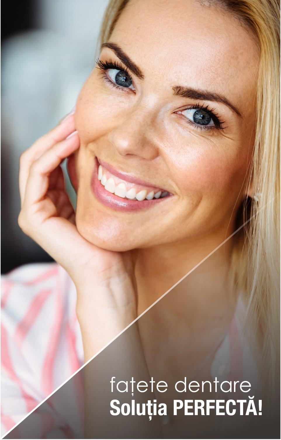 Cele mai bune motive pentru a alege fațetele dentare E.Max!