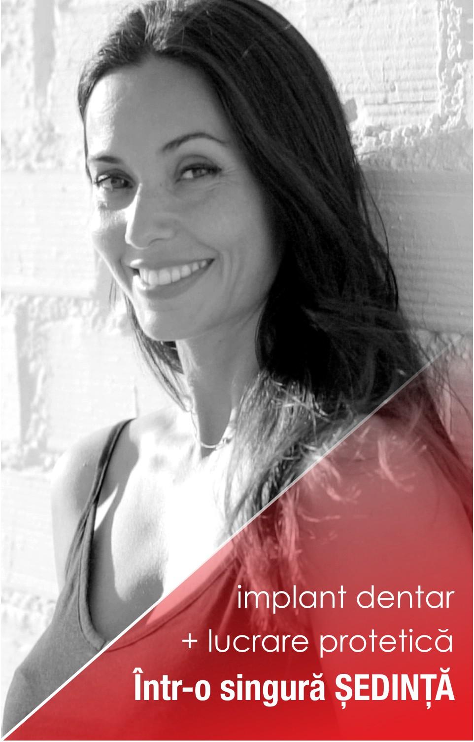Implanturi dentare într-o singură ședință!