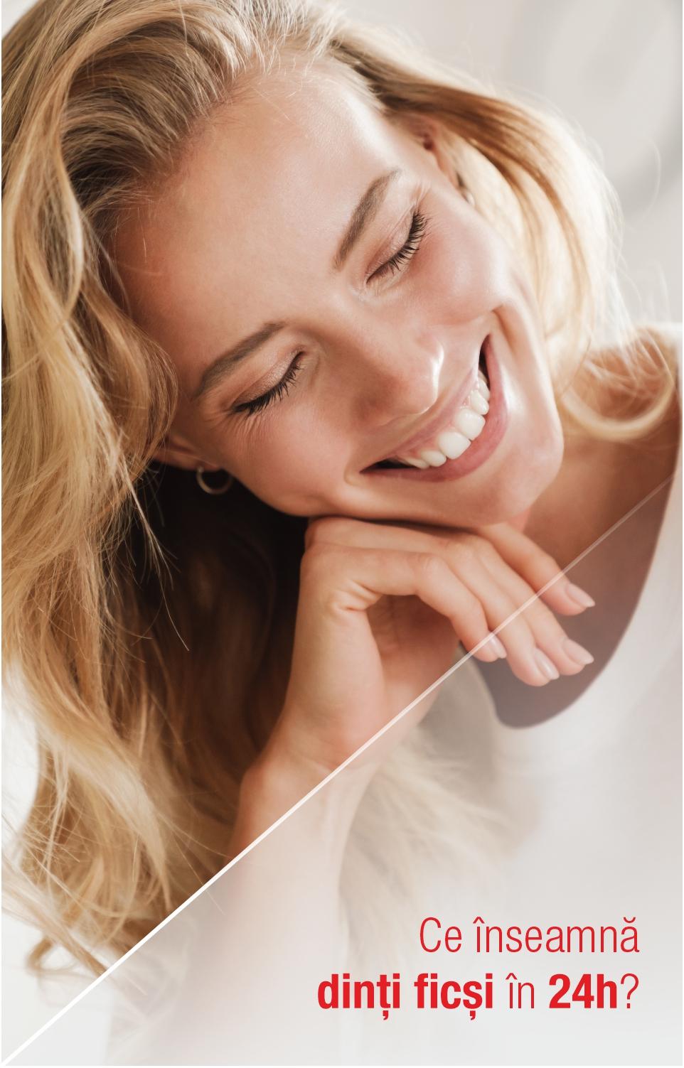 Ce înseamnă dinți ficși în 24 de ore și cât de important este termenul de livrare pentru lucrarea dentară definitivă?
